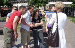 Stadtrundgang mit den Travnikern