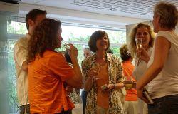 Ausstellungseröffnung 15 Jahre Kreativzentrum Grünau