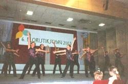 Tanzauftritt zur Floristenschau  22. Juni 2003