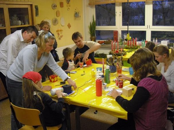Familiennachmittag am Vorabend des   1.Advent 2008
