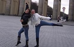 Besuch von Maja und Natasa aus Travnik  November 2007