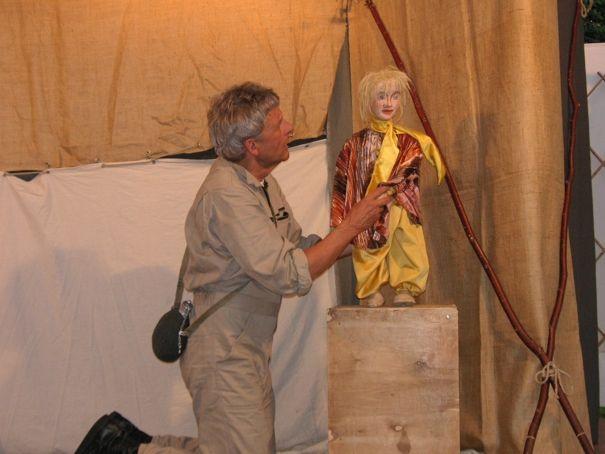 """2. Kulturinsel 16.Mai 2009  Puppenspiel für Erwachsene """"Der kleine Prinz"""""""