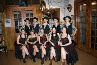 Tanzauftritt  Elstertal Saloon  22.April 201