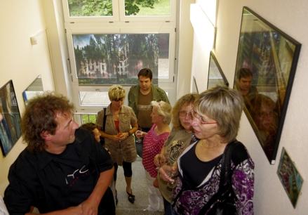 """Ausstellungseröffnung  """"Raumvisionen""""- Blickwinkel in eine verborgene Welt  Bilder von Uwe Garz"""