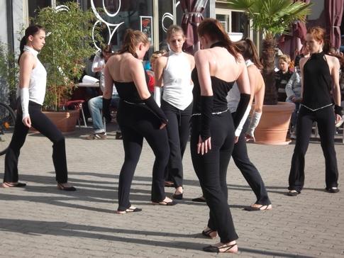 Tanzauftritt  Leipziger Notenspur  12.Mai 2012
