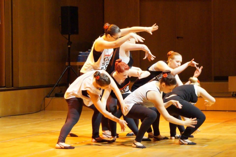 Tanzauftritt zur Jugendweihe im Gewandhaus  10.Mai 2014