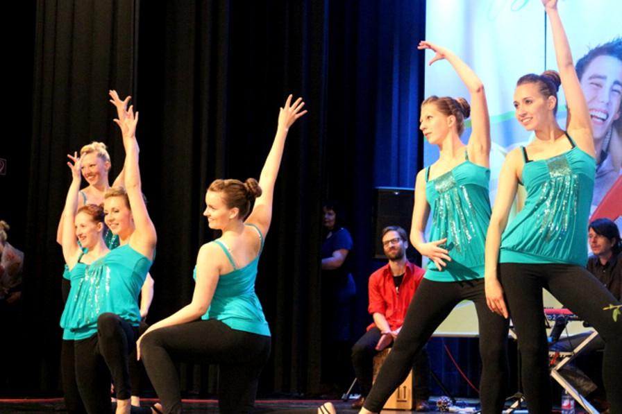 Tanzauftritt zur Jugendweihe im Rathaus Markkleeberg  16.Mai 2015