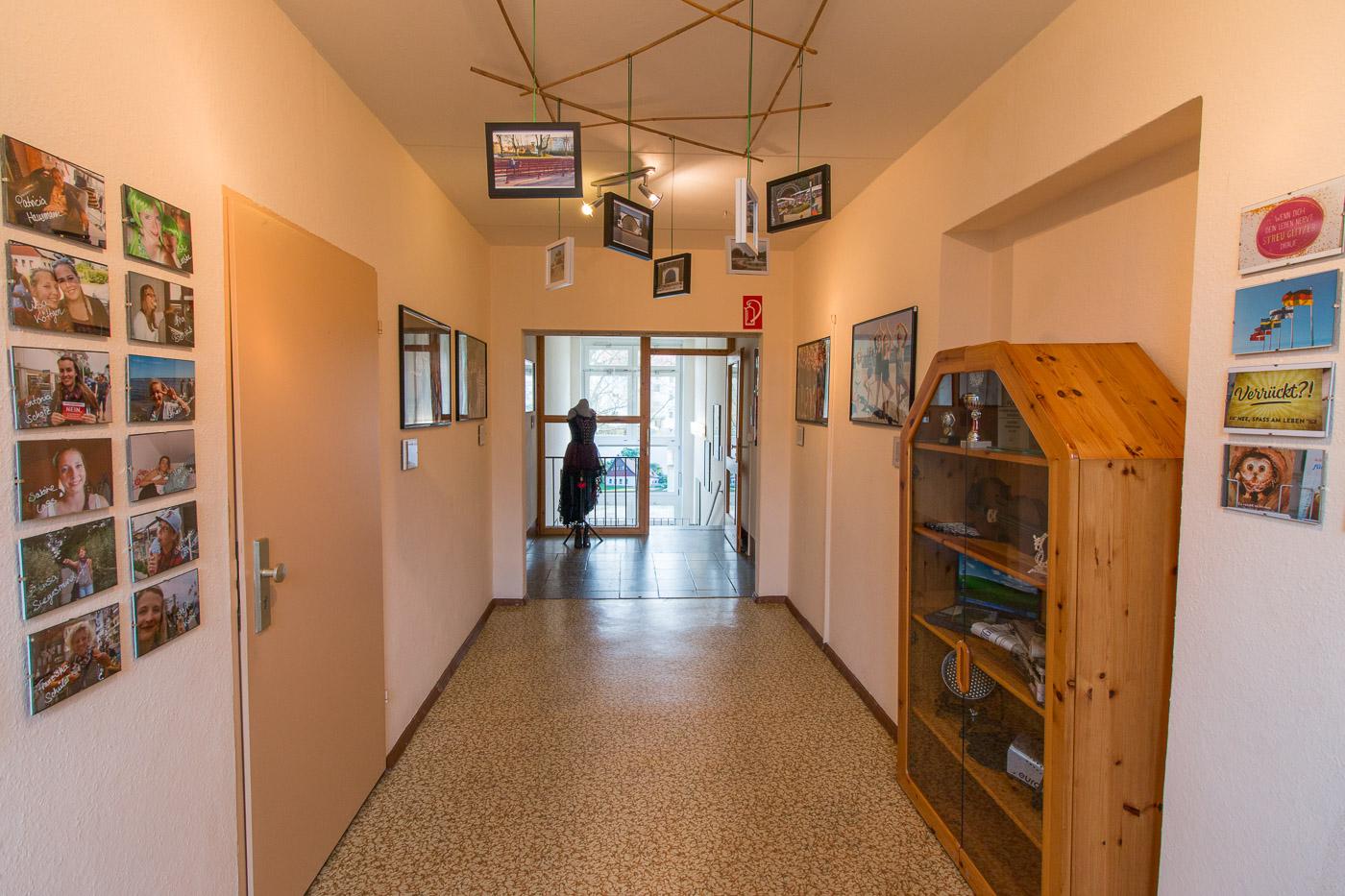 Korridor in der 1. Etage