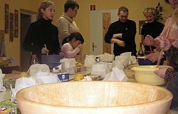 Weihnachtsbacken  Dezember 2007